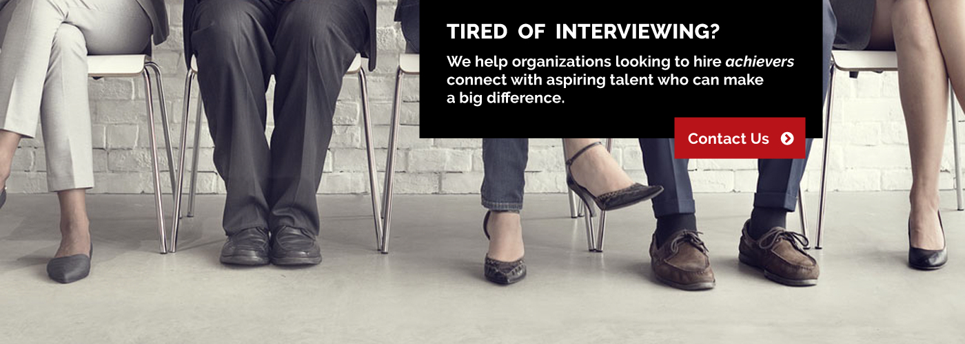Tired Of Interviewing?