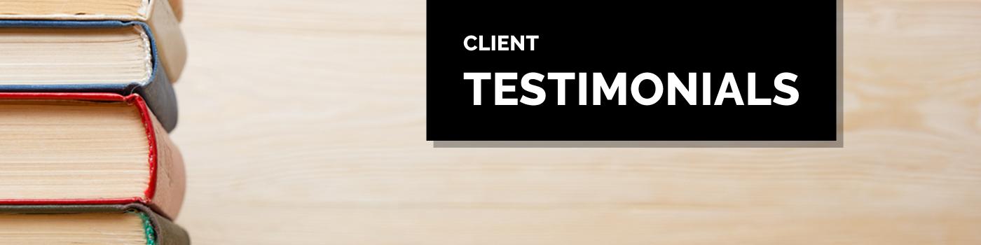 Pervenio Client Testimonials
